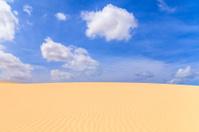 Sand dunes in Boavista desert, Cape Verde
