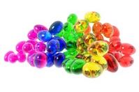 Glass Rainbow Easter Eggs