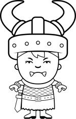 Angry Child Viking