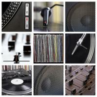 Dj tools collage