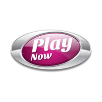 Play Now Pink Vector Icon Button