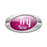 Try Now Pink Vector Icon Button