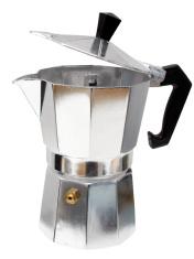 Espressokocher aus Aluminium