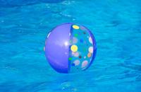 Beach Ball Floating