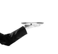 Waiter - Stock Image