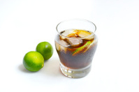 Coke with lemon