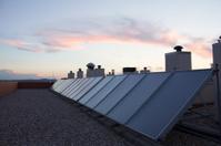 Placas solares en Azotea