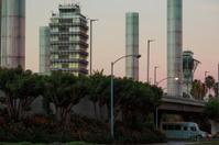 LAX Sunrise Control Towers