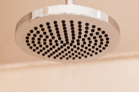 Modern luxury chrome shower diffuser