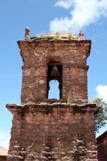 Very old Peruvian church