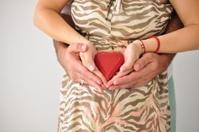 Pregnant Woman Heart Love