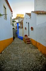 Romantic medieval village of Óbidos