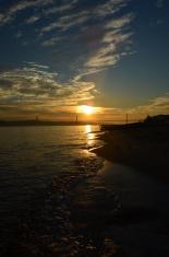 Sunset at Lisbon