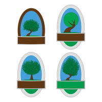Tree Stickers/Emblems