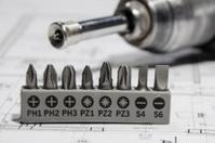 electric screwdriver set of drill bits
