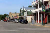 Main Street Small Town Alberta