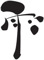 vector - Japanese Kanji AME(rain)
