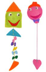 Kite and balloon