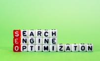 SEO Search Engine Optimization on green