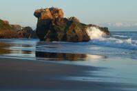 Rock Outcropping Along California Coast