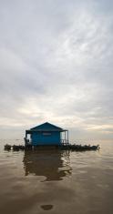 School on Tonle Sap Lake