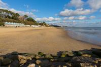 Branksome beach Poole Dorset England UK near Bournemouth south c