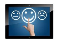 Tablet feedback button