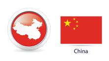 China Map and Flag Kit