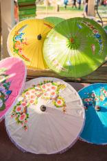handmade thai umbrella from Chiang-mai, Thailand
