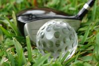 Golf Crystal Ball & Driver