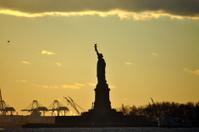 Statue of Liberty on sunset II