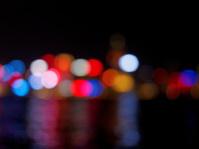 Hong Kong Skyline Bokeh