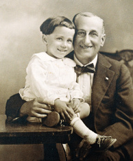 Vintage Grandfather And Grandson