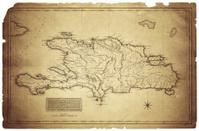 Map of Haiti and Saint Domingo 1823