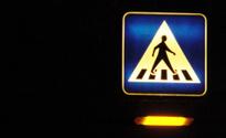 pedestrian on a sign