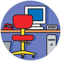 computer workstation icon
