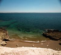 beach in puerto madryn patagonia argentina