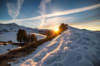 Alpine sundown III