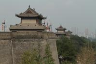 Die Stadtmauer von Xian in China