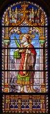 Madrid - Saint Eugene in church San Jeronimo