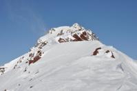 Snow high mountain