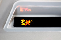 No Smoking Plane Sign
