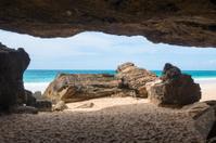 Verandinha beach Praia de Verandinha  in Boavista Cape Verde -