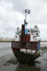 Boat Hull Wreck River Thames