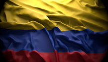 Colombia, Bogotá national official state flag