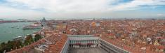 Venice panorama from St Mark campanile
