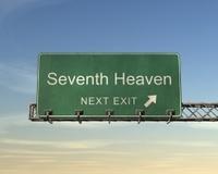 Seventh Heaven Road Sign