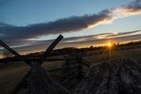 Civil War Sunrise