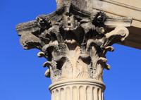 The Temple of Diana, Merida, Spain.