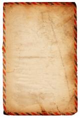 Vintage Airmail Paper XXXL